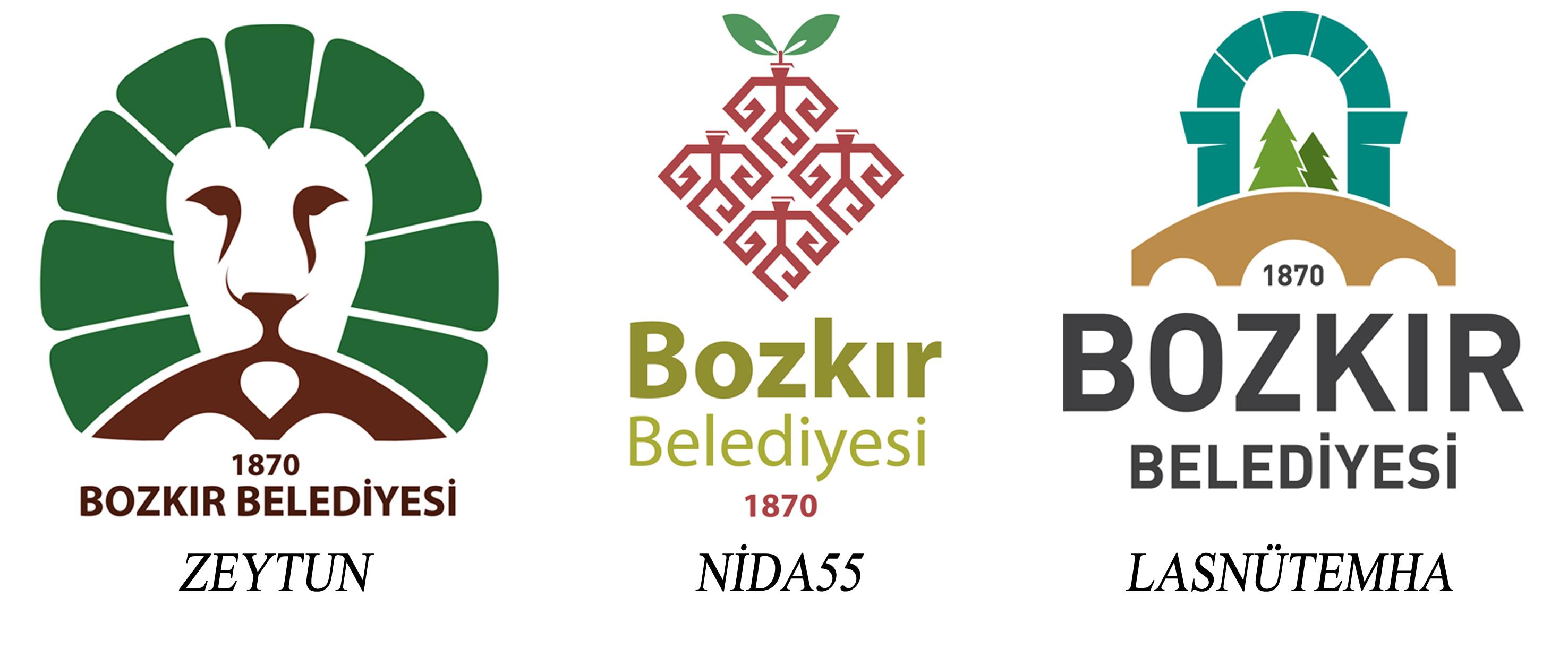 Bozkır Belediyesi Logo Yarışması Sonuçları